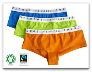 biologisch ondergoed BH slip string